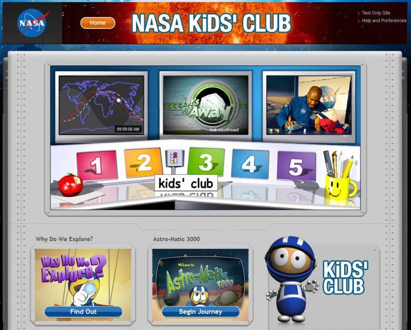STEM ناسا تقدم موقع فريد من نوعه للأطفال على طريقة - STJEGYPT