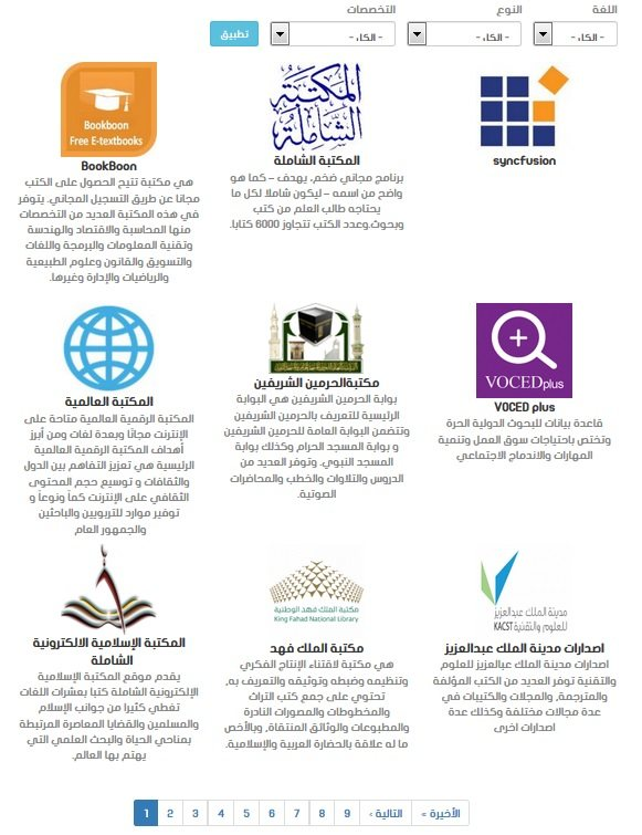 74 مكتبة رقمية مفتوحة من أشهر المكتبات الإلكترونية - STJEGYPT