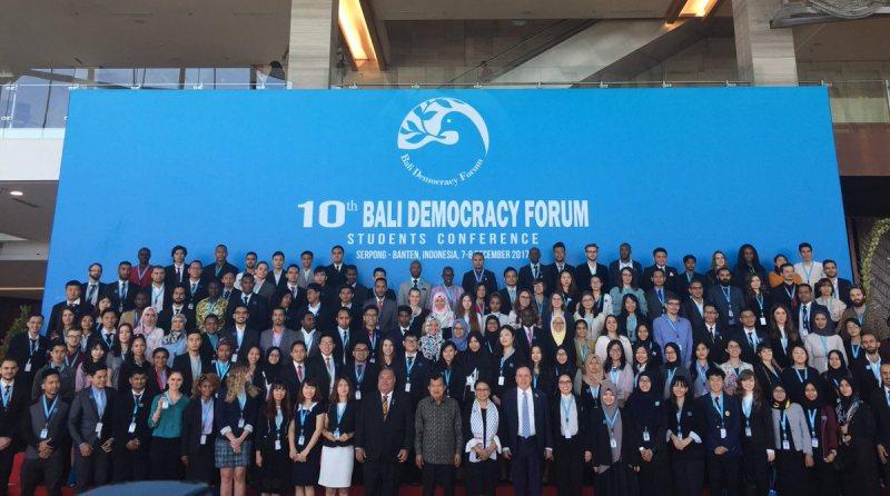 مؤتمر طلاب بالي للديمقراطية من قبل حكومة جمهورية إندونيسيا (ممول بالكامل) - STJEGYPT