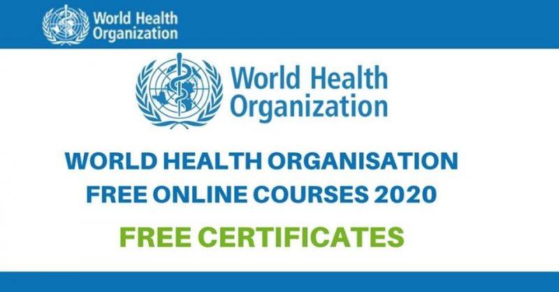 منظمة الصحة العالمية تمنح شهادات مجانية من خلال الدورات التدريبية عبر الإنترنت - STJEGYPT