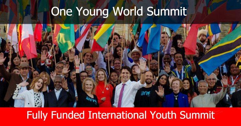 منحة كاملة لحضور مؤتمر One Young World Summit في ميونيخ - STJEGYPT