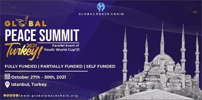 قمة السلام العالمية في تركيا 2021 - STJEGYPT