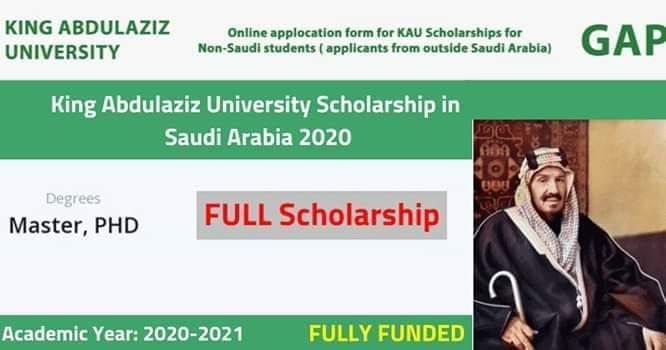 منحة جامعة الملك عبدالعزيز لدراسة الماجستير والدكتوراه في السعودية (ممولة بالكامل) - STJEGYPT
