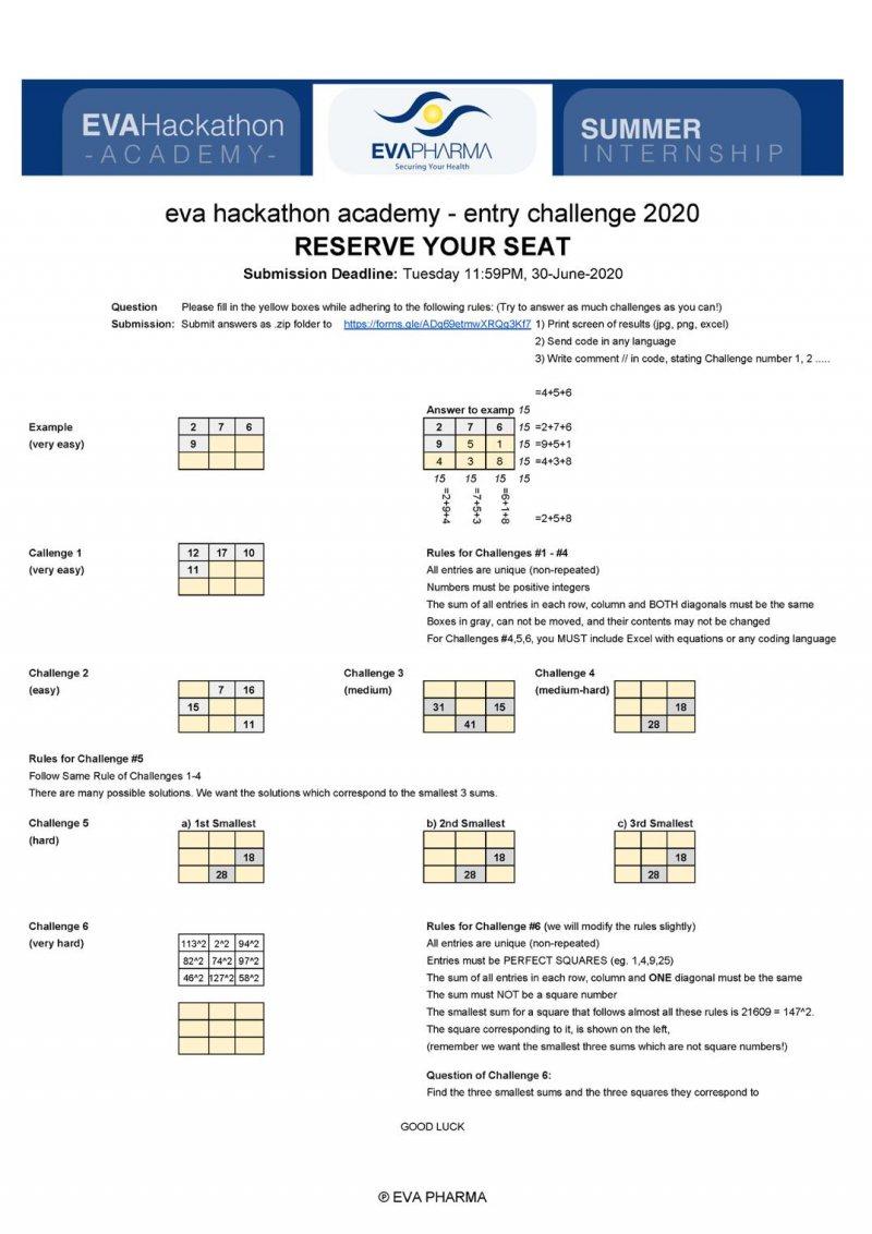 تدريب ايفا فارما لصيف 2020 - STJEGYPT
