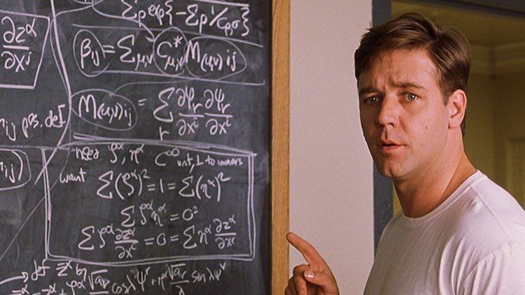 بعض الأفلام اللي بطلها عبقري شبيه بJohn Nash في A Beauitful Mind - STJEGYPT