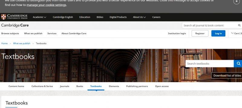 بسبب أزمة كورونا جامعة كامبريدج البريطانية تفتح التصفح المجاني لأكثر من 700 كتاب حتى نهاية مايو 2020 - STJEGYPT
