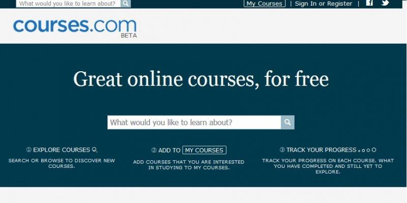 كورسات مجانية | ما لا تعرفه عن Courses.com للتعليم الاونلاين - STJEGYPT