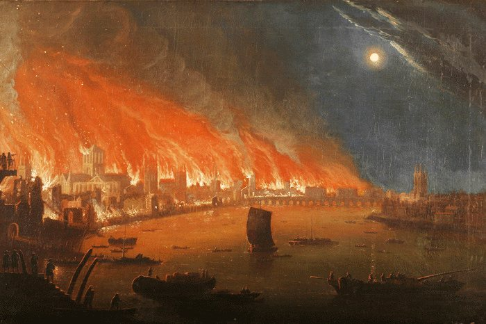حريق لندن الكبير .. مأساة القرن السابع عشر - STJEGYPT