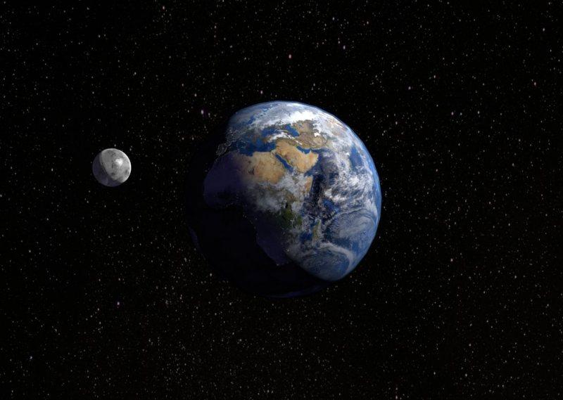 علم مجرد: الأرض من دون القمر - STJEGYPT