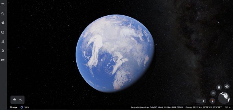 كوكب الأرض ثلاثى الأبعاد - STJEGYPT