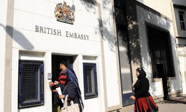 Communications intern, British Embassy - STJEGYPT