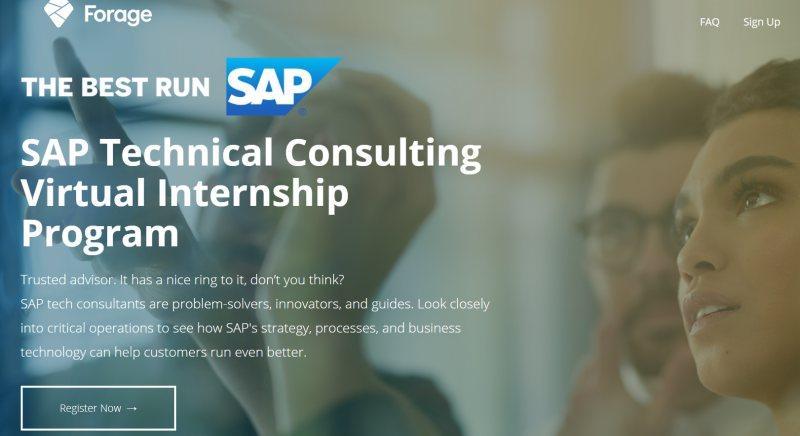 برنامج التدريب الافتراضي SAP للاستشارات الفنية - STJEGYPT