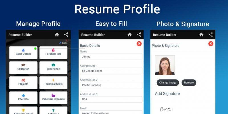 Resume Builder App Free CV - STJEGYPT