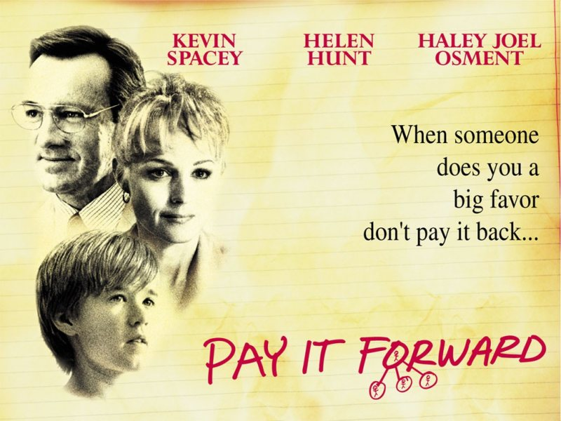 Pay It Forward - STJEGYPT