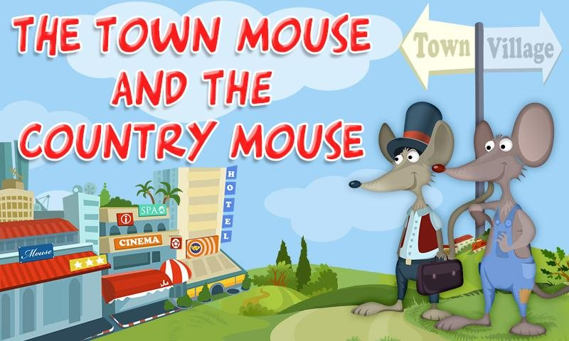 The Town Mouse and the Country Mouse - STJEGYPT