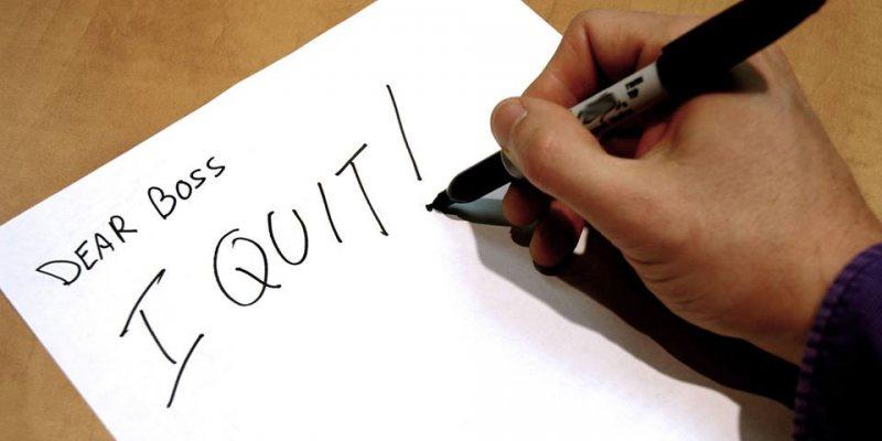 متى يتوجب عليك تقديم استقالتك من العمل ؟ - STJEGYPT