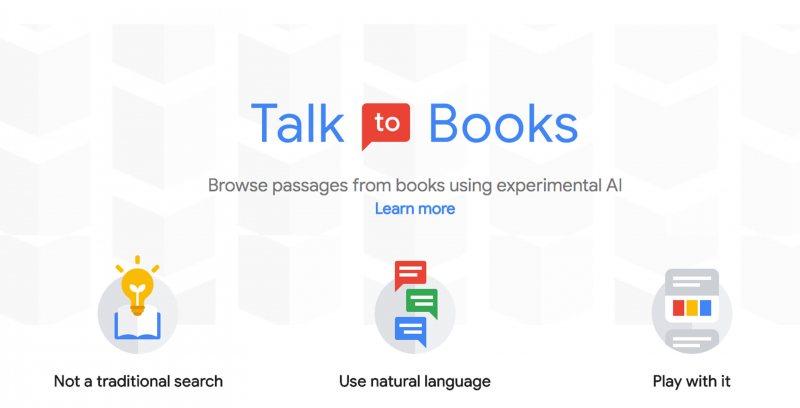 جوجل أعلنت عن أداة جديدة اسمها Talk To books المبهرة - STJEGYPT