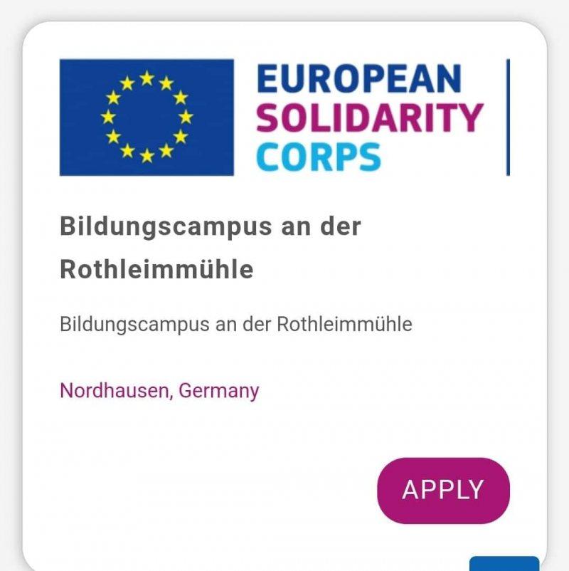 برنامج تطوعي في المانيا لمدة سنة و تعلم اللغة الألمانية  لمدة 6 شهور - STJEGYPT