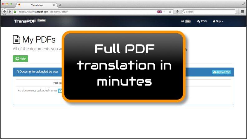 كنز جديد | مواقع لترجمة ملفات  PDF  مجانا - STJEGYPT