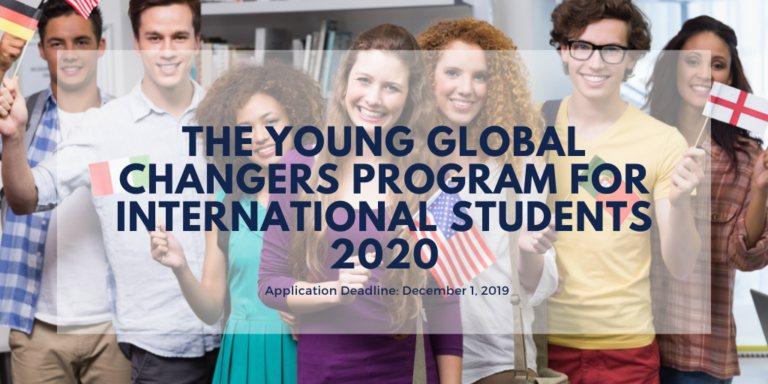 منحة برنامج Young Global Changers في ألمانيا 2020 (ممولة بالكامل) - STJEGYPT