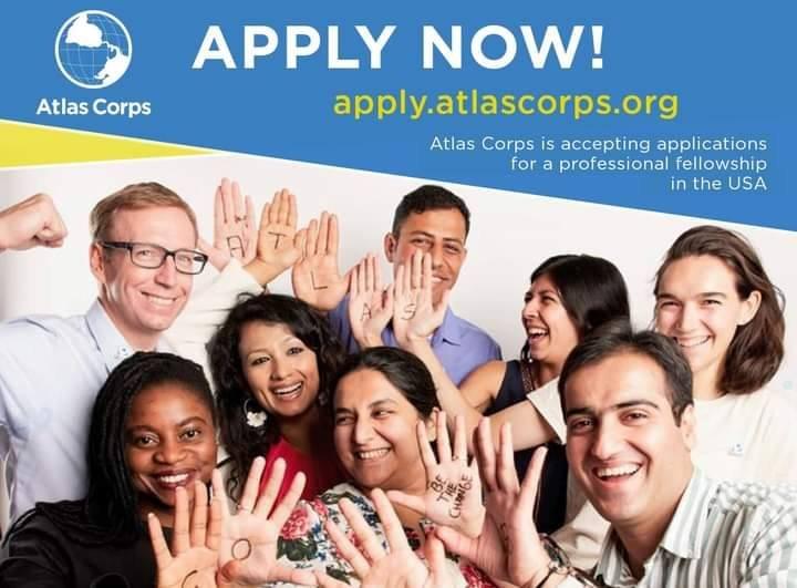 زمالة Atlas Corps  لمدة سنة كاملة في امريكا ممولة بالكامل - STJEGYPT